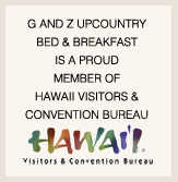 G and Z is proud to be a member of the Hawaii Visitors and Convention Bureau